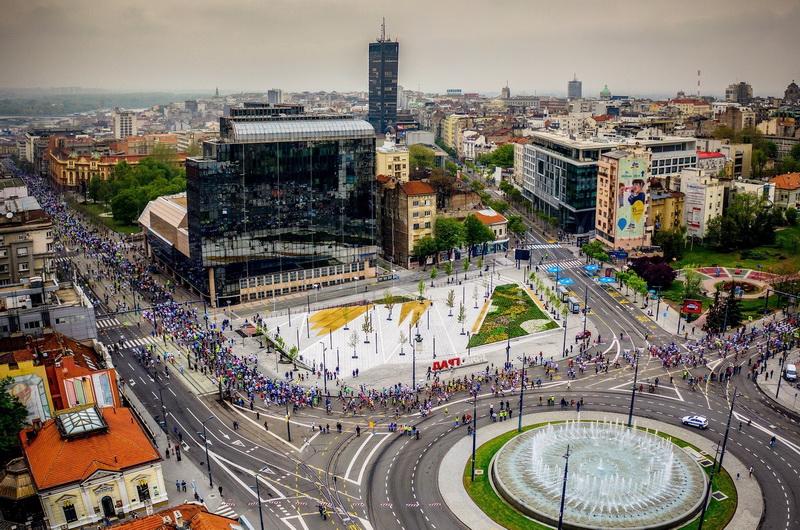 Beogradski maraton 2а - Naslovna
